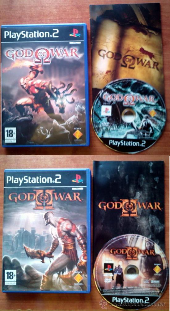GOD OF WAR 1 Y 2 - PLAYSTATION 2 - PAL ESPAÑA