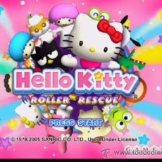 Videojuegos y Consolas: HELLO KITTY ROLLER RESCUE. JUEGO PROMOCIONAL COMPLETO PARA PS2. EN . EN ESPAÑOL.. Lote 33271265