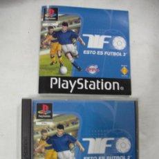 Videojuegos y Consolas: ANTIGUO JUEGO PLAYSTATION ESTO ES FUTBOL 2. Lote 33766615