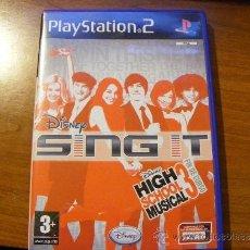 Videojuegos y Consolas: HIGH SCHOOL MUSICAL 3 - DISNEY SING IT - PS2 - PLAYSTATION 2 - CASTELLANO ( ORIGINAL ). Lote 33987961