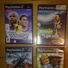 Videojuegos y Consolas: JUEGOS PARA PLAYSTATION 2 LOTE DE 4 EN ESTUPENDO ESTADO COMO NUEVOS VER FOTOS ADICIONALES. Lote 34059328