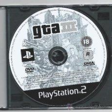 Videojuegos y Consolas: 4162-PLAYSTATION 2- GTA III. Lote 34078745