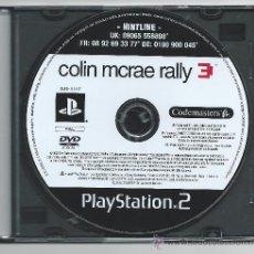Videojuegos y Consolas: 4165-PLAYSTATION 2 - COLIN MCRAE RALLY 3. Lote 34078816