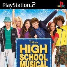 Videojuegos y Consolas: HIGH SCHOOL MUSICAL ¡CANTA CON ELLOS! [PS2 PAL ESPAÑA]. Lote 35347846