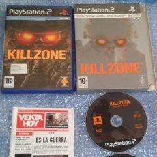 Videojuegos y Consolas: KILLZONE ED LIMITADA. PS2 PSTWO PLAYSTATION 2 ACCION.. Lote 35675818