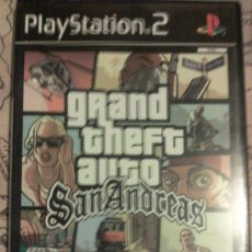 Videojuegos y Consolas: GTA SAN ANDREAS PARA PLAYSTATION 2 PS2 PAL COMPLETO + POSTER - PS3 GRAND THEFT AUTO. Lote 95738224