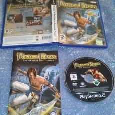 Videojuegos y Consolas: PRINCE OF PERSIA LAS ARENAS DEL TIEMPO SONY PS2 PLAYSTATION 2 PSTWO IMPECABLE. Lote 35785186