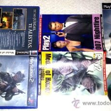 Videojuegos y Consolas: MEDAL OF HONOR- FRONTLINE SONY PS2 PLAYSTATION 2 PSTWO + GUIA DOBLE. Lote 35804407
