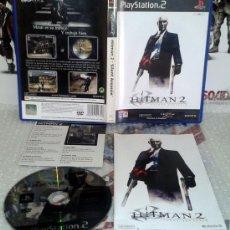 Videojuegos y Consolas: HITMAN 2 II SILENT ASSASSIN 47 PS2 PLAYSTATION 2 COMPLETO PAL ESPAÑA EIDOS. Lote 35938467