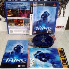 Videojuegos y Consolas: THE THING LA COSA PS2 PLAYSTATION 2 COMPLETO PAL ESPAÑA + GUIA. JHON CARPERTER. Lote 35938997