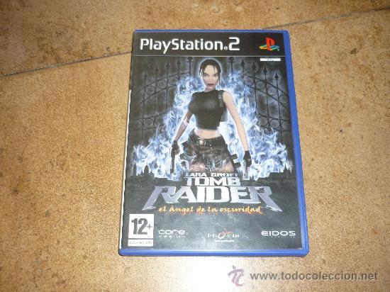 PS2- LARA CROFT TOM RAIDER: EL ANGEL DE LA OSCURIDAD -PLAYSTATION (Juguetes - Videojuegos y Consolas - Sony - PS2)