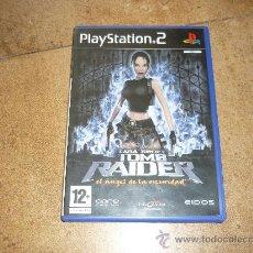 Videojuegos y Consolas: PS2- LARA CROFT TOM RAIDER: EL ANGEL DE LA OSCURIDAD -PLAYSTATION. Lote 177764323