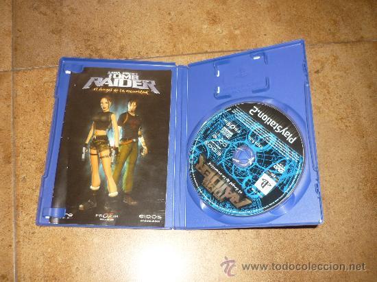 Videojuegos y Consolas: PS2- LARA CROFT TOM RAIDER: EL ANGEL DE LA OSCURIDAD -PLAYSTATION - Foto 2 - 177764323