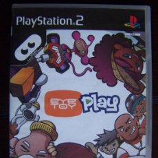 Videojuegos y Consolas: PS2 EYETOY PLAY PAL ESPAÑA PLAYSTATION 2 (4X). Lote 36388521