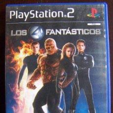 Videojuegos y Consolas: PS2 LOS 4 FANTASTICOS PAL ESPAÑA PLAYSTATION 2 (4X). Lote 294992748