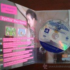 Videojuegos y Consolas: JUEGO EJEMPLAR PROMOCIONAL PROMO PLAYSTATION 2 PS2 EYE TOY PLAY SPORTS GET TOGETHER. Lote 36422558