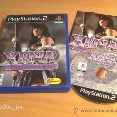 Videojuegos y Consolas: XENA LA PRINCESA GUERRERA JUEGO PARA SONY PLAYSTATION 2 PS2 PAL COMPLETO VERSIÓN ESPAÑOLA. Lote 36519248