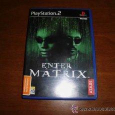 Videojuegos y Consolas: JUEGO PLAY STATION ENTER THE MATRIX SONY PLAYSTATION 2. Lote 36602036