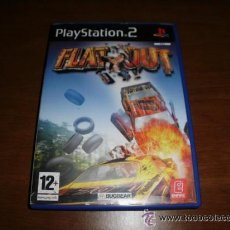 Videojuegos y Consolas: JUEGO PLAY STATION FLAT OUT SONY PLAYSTATION 2. Lote 36602045