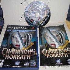 Videojuegos y Consolas: JUEGO PS2 CHAMPIONS OF NORRATH,CHAMPION OF NORATH,COMPLETO. Lote 37198215