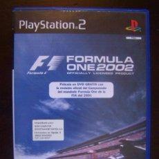 Videojuegos y Consolas: PS2 FORMULA ONE 2002 - 2 DISCOS, JUEGO + PELICULA EN DVD - PAL ESPAÑA PLAYSTATION 2 (4X). Lote 37505711