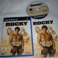 Videojuegos y Consolas: ROCKY PARA PLAYSTATION 2 PAL ESPAÑA COMPLETO. Lote 171235913