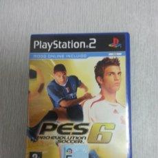 Videojuegos y Consolas: JUEGO DE PS2 - PES 6 PRO EVOLUTIOM SOCCER - COMPLETO -. Lote 39040755