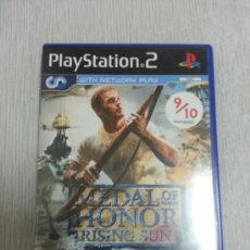 Videojuegos y Consolas: JUEGO DE PS2 - MEDAL OF HONOR RISING SUN - COMPLETO -. Lote 39040824
