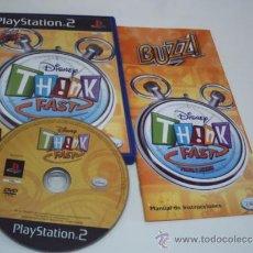 Videojuegos y Consolas: DISNEY THINK FAST. Lote 39187530