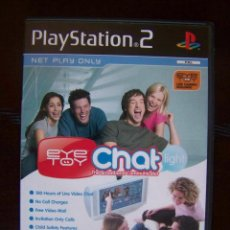 Videojuegos y Consolas: PS2 EYETOY CHAT LIGHT - EN INGLES - PLAYSTATION 2 (4W). Lote 39919523