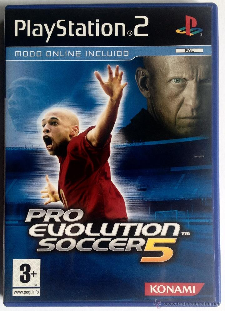 JUEGO PLAYSTATION 2 - PRO EVOLUTION SOCCER 5