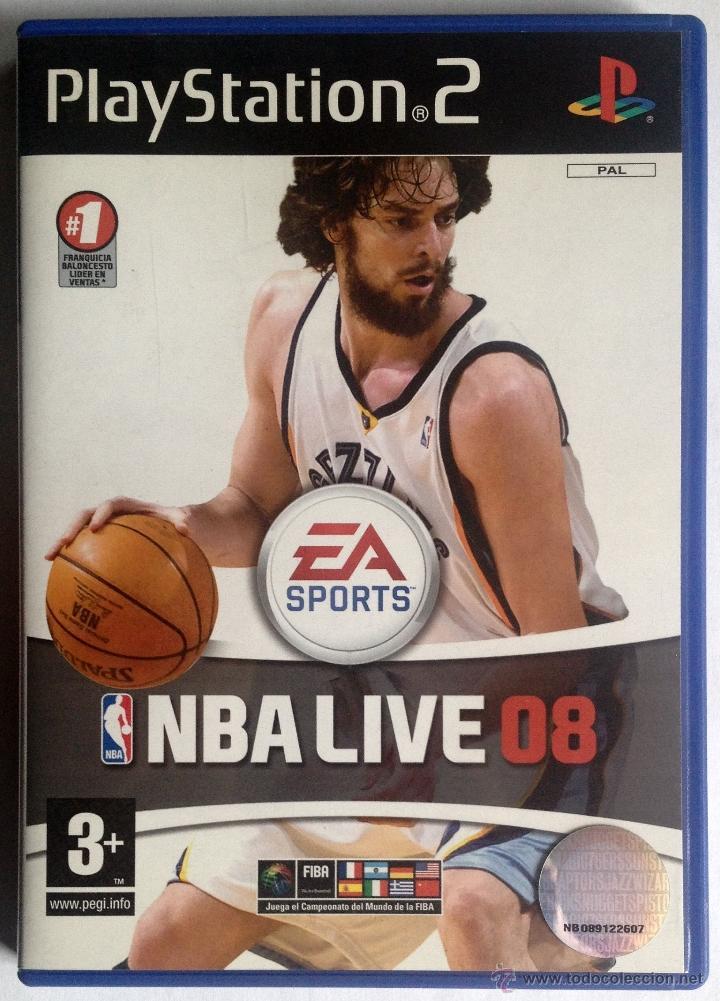 JUEGO PLAYSTATION 2 - NBA LIVE 08 (Juguetes - Videojuegos y Consolas - Sony - PS2)