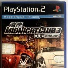 Videojuegos y Consolas: JUEGO PLAYSTATION 2 - MIDNIGHT CLUB 3: DUB EDITION. Lote 39992332
