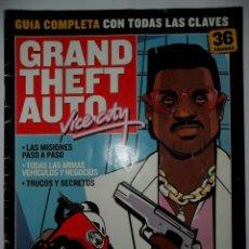 Videojuegos y Consolas: GUÍA COMPLETA GRAND THEFT AUTO VICE CITY 36 PÁGS HOBBY COSOLAS. Lote 40620464