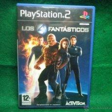 Videojuegos y Consolas: LOS 4 FANTASTICOS - PS2 - PLAYSTATION 2. Lote 40777527