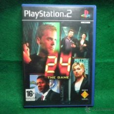 Videojuegos y Consolas: 24 THE GAME - PS2 - PLAYSTATION 2. Lote 40777541