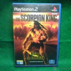 Videojuegos y Consolas: THE SCORPION KING - RISE OF THE ADDKADIAN - PS2 - PLAYSTATION 2. Lote 40777612