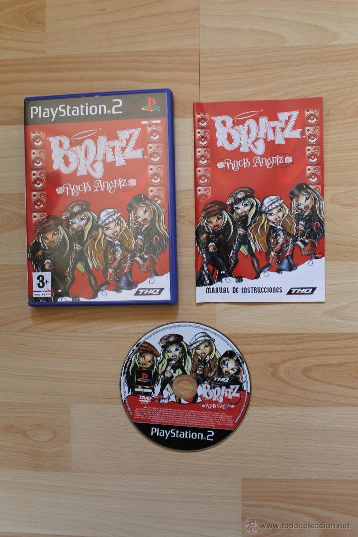 BRATZ ROCK ANGELZ JUEGO PLAYSTATION 2 TOTALMENTE EN CASTELLANO PS2 (Juguetes - Videojuegos y Consolas - Sony - PS2)
