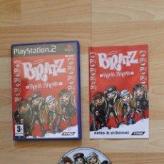 Videojuegos y Consolas: BRATZ ROCK ANGELZ JUEGO PLAYSTATION 2 TOTALMENTE EN CASTELLANO PS2. Lote 41258197