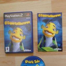 Videojuegos y Consolas: EL ESPANTATIBURONES JUEGO PLAYSTATION TOTALMENTE EN CASTELLANO PS2. Lote 41258885