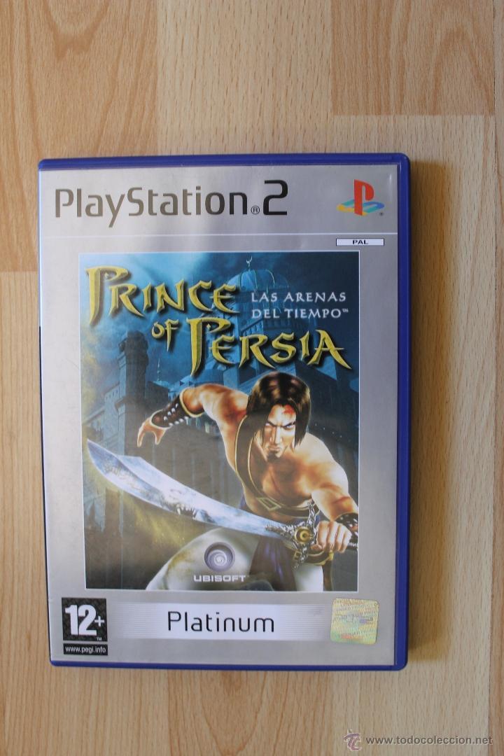 Videojuegos y Consolas: PRINCE OF PERSIA LAS ARENAS DEL TIEMPO JUEGO PLAYSTATION 2 EDICIÓN ESPAÑOLA PS2 UBISOFT - Foto 2 - 41259146