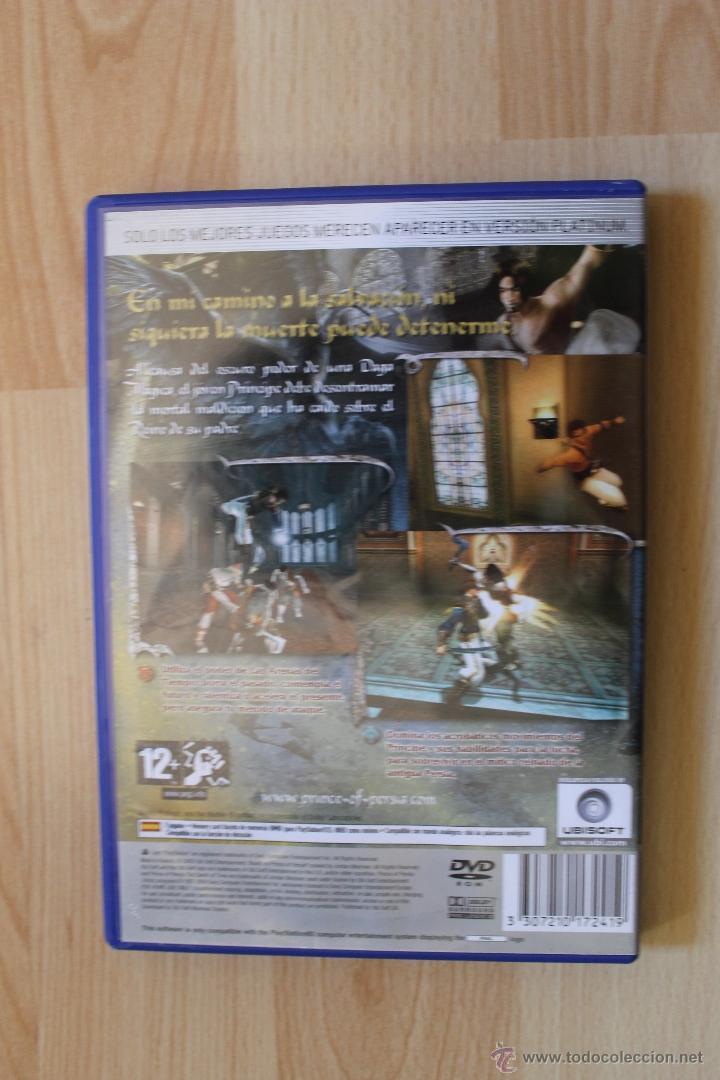 Videojuegos y Consolas: PRINCE OF PERSIA LAS ARENAS DEL TIEMPO JUEGO PLAYSTATION 2 EDICIÓN ESPAÑOLA PS2 UBISOFT - Foto 3 - 41259146