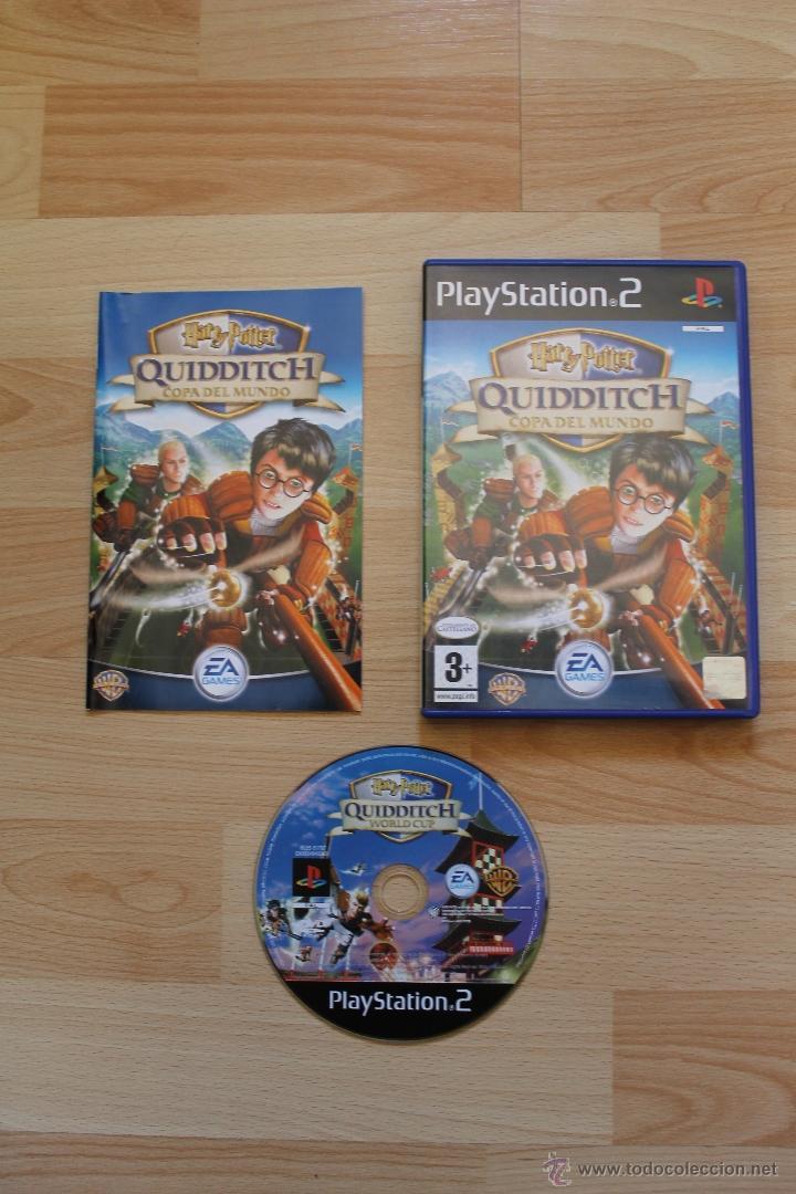 HARRY POTTER QUIDDITCH COPA DEL MUNDO JUEGO PLAYSTATION 2 EDICIÓN ESPAÑOLA PS2 (Juguetes - Videojuegos y Consolas - Sony - PS2)