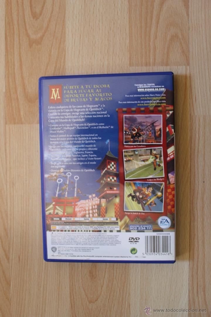 Videojuegos y Consolas: HARRY POTTER QUIDDITCH COPA DEL MUNDO JUEGO PLAYSTATION 2 EDICIÓN ESPAÑOLA PS2 - Foto 3 - 147913970