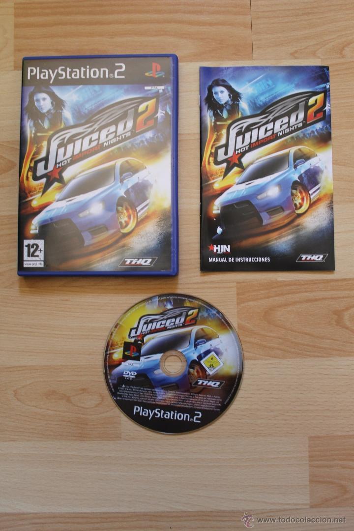 JUICED 2 HOT IMPORT NIGHT JUEGO PLAYSTATION 2 EDICIÓN ESPAÑOLA PS2 (Juguetes - Videojuegos y Consolas - Sony - PS2)