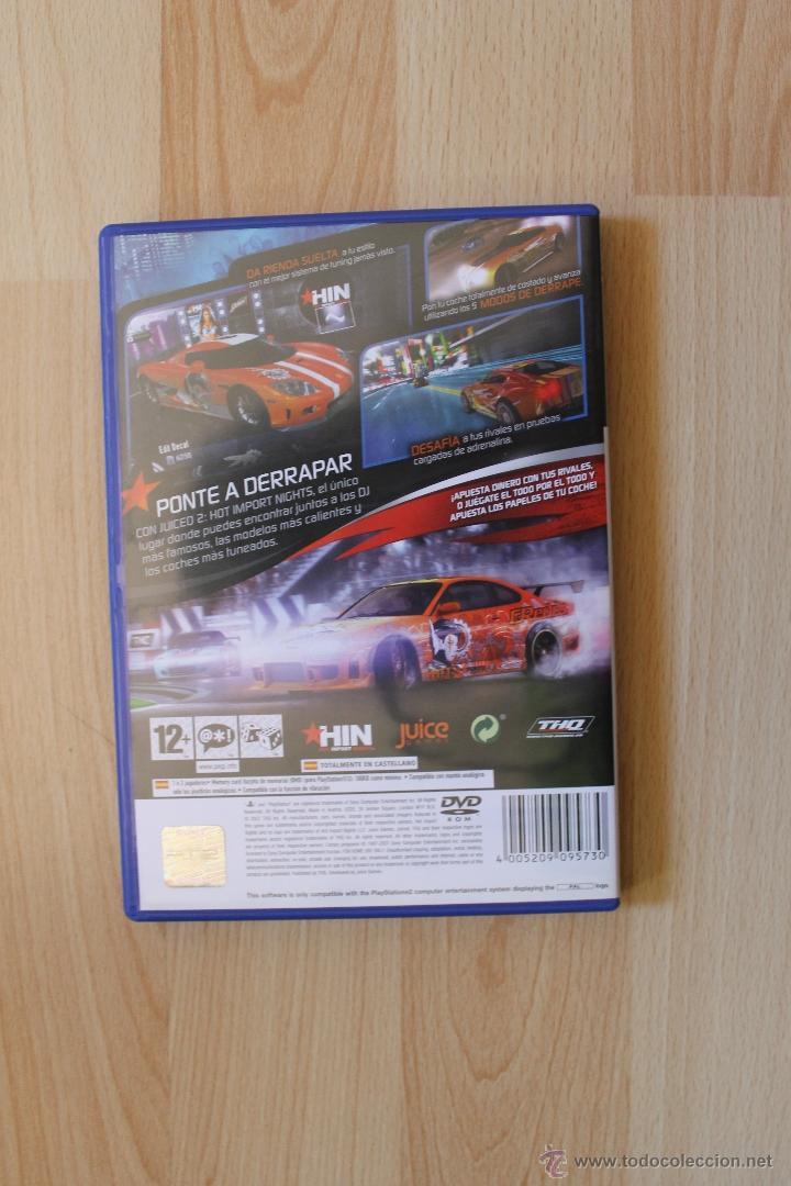 Videojuegos y Consolas: JUICED 2 HOT IMPORT NIGHT JUEGO PLAYSTATION 2 EDICIÓN ESPAÑOLA PS2 - Foto 3 - 41259497