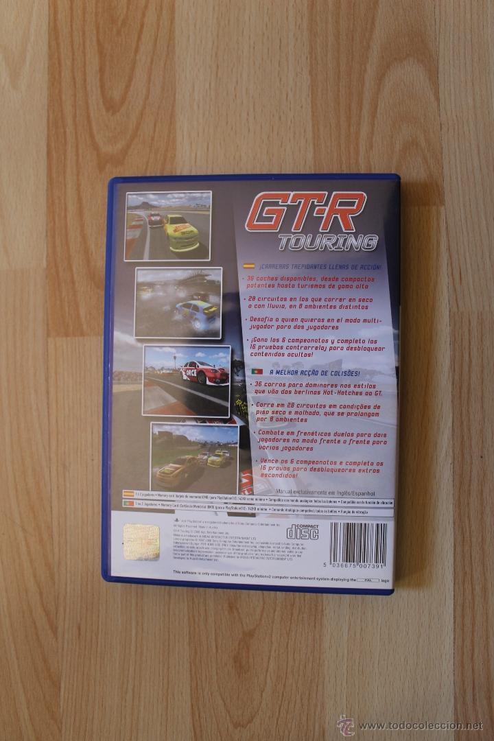 Videojuegos y Consolas: GT-R TOURING JUEGO PLAYSTATION 2 EDICIÓN ESPAÑOLA PS2 - Foto 3 - 41259766