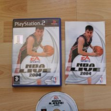 Videojuegos y Consolas: NBA LIVE 2004 JUEGO PLAYSTATION 2 EDICIÓN ESPAÑOLA PS2. Lote 41259960