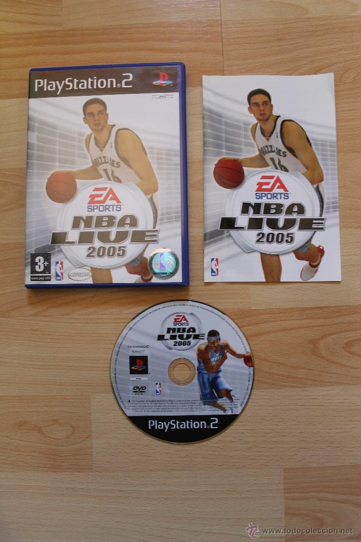 NBA LIVE 2005 JUEGO PLAYSTATION 2 EDICIÓN ESPAÑOLA PS2 (Juguetes - Videojuegos y Consolas - Sony - PS2)