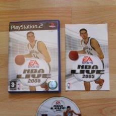 Videojuegos y Consolas: NBA LIVE 2005 JUEGO PLAYSTATION 2 EDICIÓN ESPAÑOLA PS2. Lote 41260064